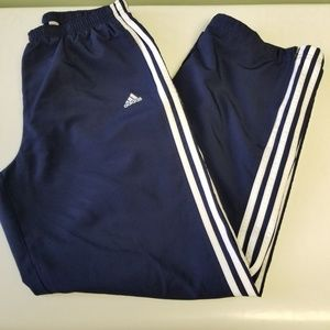 Adidas Navy With White Stripes Classic Pants K31